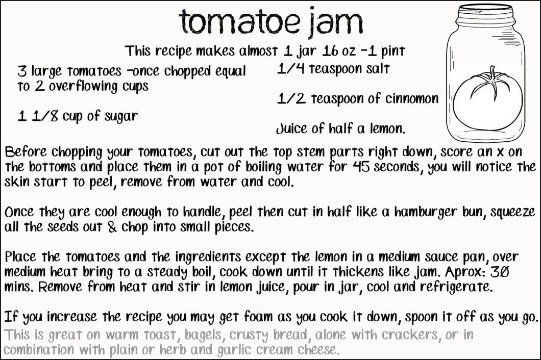 tomatoe jam